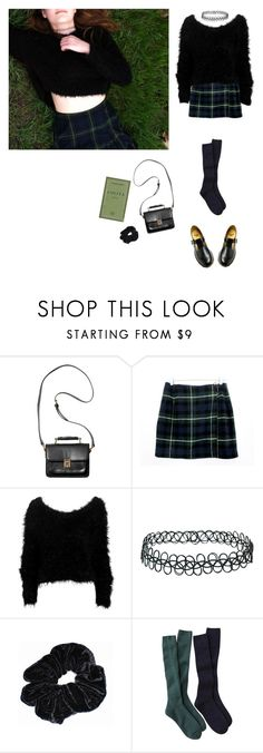"""grass nymphet"" by grimess ❤ liked on Polyvore featuring Monki, Zimmermann, Topshop and Dr. Martens"