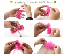 geolino basteln diy kinder schleife geschenke verpacken weihnachten pinterest. Black Bedroom Furniture Sets. Home Design Ideas