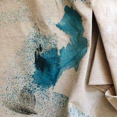 A pretty drop cloth | via @sweeteventide on Instagram