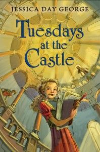 Tuesdays at the castle. About three kids that live in a castle. Might be good for my three kids to listen to together.