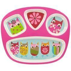 Owl plate for Michaela