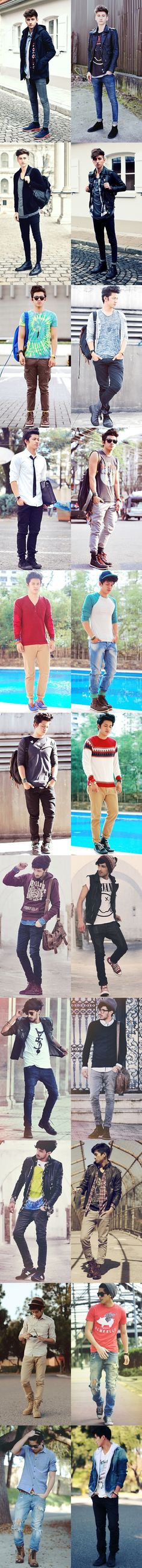 Style for boys/ Fashion for boys/ Boys' Style