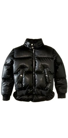 Exciting times ahead!  Give your boy an elegant edge, confidently cloaked in the #DSQUARED2 #Kids #Leather #Puffer #Jacket. #boys #child #children #childrenswear #outerwear #coat #apparel #clothing
