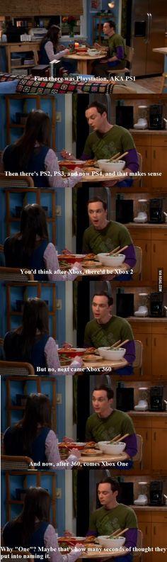 Sheldon on PS4 vs Xbox One