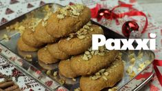 Μελομακάρονα με μέλι και καρύδια - Paxxi 1min150