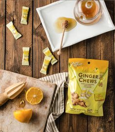 Chewy candy packed with the power of ginger + a hint of lemon flavor. These sweet & spicy treats can satisfy a sweet tooth and comfort the stomach. Look for our Ginger Chews with Lemon at Rite Aid, GNC and Vitamin Shoppe! #PrinceofPeaceGinger #POPGingerChewswithLemon #GingerCandy #GingerChews #Ginger #GingerBenefits #NauseaRelief #MotionSickness #DigestionSupport #StomachAche #Honey #Citrus #GingerChew #HealthyTreats #Lemon #99RanchMarket #HMart #GNCLiveWell #RiteAid #VitaminShoppe Ginger Benefits, Chewy Candy, Prince Of Peace, Sour Candy, Sweet And Spicy, Healthy Treats, Cravings, Sweet Tooth, Lemon