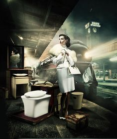 Kohler ads with nude woman