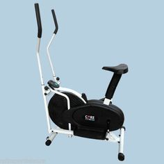 NEW 2-IN-1 ELLIPTICAL CROSS TRAINER EXERCISE BIKE FOR FITNESS AND FAT LOSS