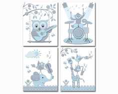 Hey, I found this really awesome Etsy listing at https://www.etsy.com/uk/listing/465642829/blue-grey-music-nursery-art-baby-boy