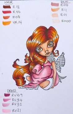 Pink Copic Combo