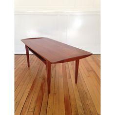 Tove & Edvard Kindt Larsen FD-503 Teak Coffee Table for France & Son, Denmark