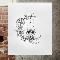 Owl Tattoo Design Ideas The Best Collection Top Rated Stylish Trendy Tattoo Designs Ideas For Girls Women Men Biggest New Tattoo Images Archive Owl Tattoo Design, Tattoo Designs, Tattoo Ideas, Name Tattoos, Body Art Tattoos, Sleeve Tattoos, Moon Tattoos, Symbol Tattoos, Buho Tattoo