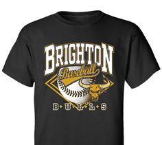 High School Impressions search BSE-014-W; Bulls High School Baseball T-Shirts- Create your own design for t-shirts, hoodies, sweatshirts. Choose your Text, Ink and Garment Colors.  Visit our other boards for other great designs!