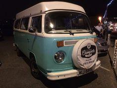 Love the blue on this camper van - Stuart Honnor 2016 Volkswagen Bus, Vw T1, Vw Camper, Wolkswagen Van, Bus Life, Bays, Vintage Cars, Dream Cars, Addiction