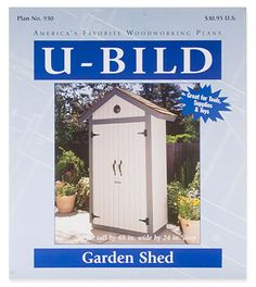 Garden Shed Plan - Woodworking