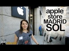 Apple Store Madrid Sol visita - YouTube