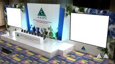Diseño y producción de escenografía para el XIX Congreso de la Asociación Interamericana de Propiedad Intelectual.Lugar: Cartagena de Indias, Colombia