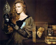 QUEEN OF THE RENAISSANCE .. photographer: Pierluigi Maco model: Vlada Roslyakova ... stylist: Anastasia Barbieri .... hair: Marion Anee .. make-up: Karim Rahman