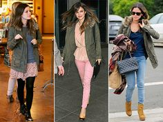 Rachel Bilson takes advantage of her petite stature by wearing this faux-fur-trimmed Gap Kids cargo jacket with everything from jeans to flirty skirts! Rachel Bilson, Fur Trim Coat, Cold Weather Outfits, Kids Coats, Love Her Style, Autumn Winter Fashion, Celebrity Style, Style Inspiration, Womens Fashion