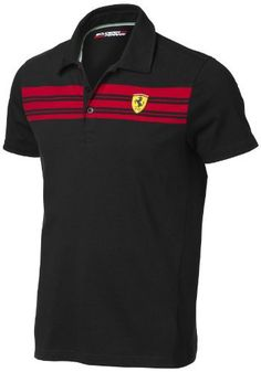 Ferrari polo shirt Striped, noir: Cet article Ferrari polo shirt Striped, noir est apparu en premier sur 123autos.