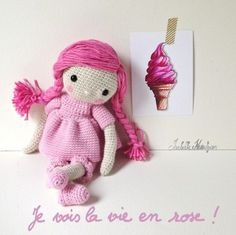 Isabelle Kessedjian - Remeber to look for her crochet doll book in December!