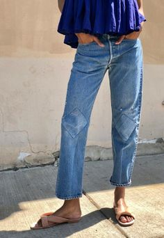 Diamond Patch Jeans
