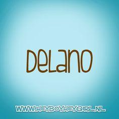 Delano (Voor meer inspiratie, en unieke geboortekaartjes kijk op www.heyboyheygirl.nl)