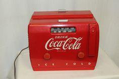 "1940s Original Coca Cola Bakelite Radio Cooler Hard to find ""See Video  #cocacola"