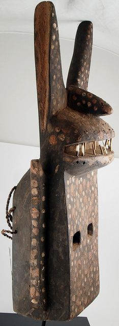 PB303282b Funerary mask, Dogon people Mali by ann porteus, Sidewalk Tribal Gallery, via Flickr