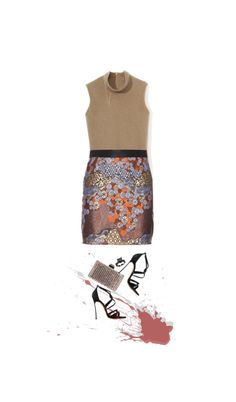 """""""2+2"""" by nandusho ❤ liked on Polyvore"""