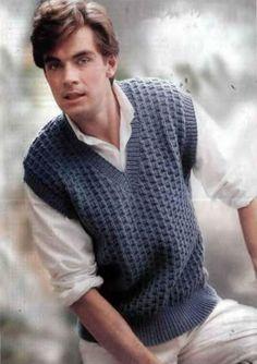 Knitting sleeveless