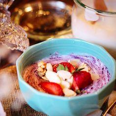 Maqui Berry & yoghurt  #goshizen #マキベリー #マキベリーパウダー #maquiberry #マキベリーヨーグルト #スーパーフード #ヨーグルト #ローフード #ポリフェノール #ヘルシー #自然食 #ロハス #無添加 #ナチュラル #アントシニン