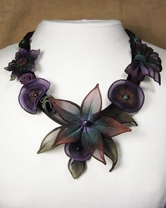 Starflower Necklace: Sarah Cavender: Metal Necklace - Artful Home