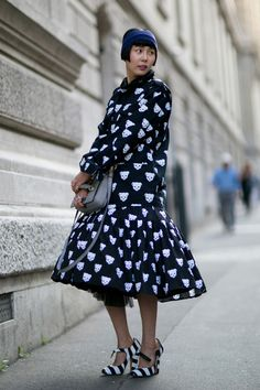 Paris Fashion Week Spring 2014 Attendees Pictures - StyleBistro