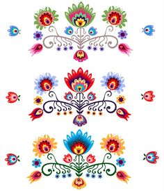 Folk Art Patterns from $41.99   www.wallartprints.com.au #FolkArtPatterns