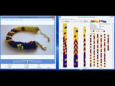 Design Tubular Bead Crochet Jewelry Patterns With JBead Software - YouTube