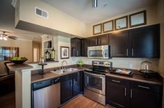 Should you appreciate kitchen and dining room appliances a person will love our info! Kitchen Dining, Kitchen Cabinets, Dining Room, Apartment Locator, Austin Apartment, New Cabinet, Stainless Steel Appliances, Austin Tx, Apartments