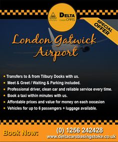 Expecting a quality airport pickup cab service in Basingstoke? Explore the premium quality journey at an affordable price. London Southend Airport, London City Airport, London Airports, Gatwick Airport, Heathrow Airport, Bristol City Centre, Taxi, Journey