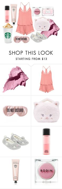 """""""Sunday Morning"""" by itssandyred ❤ liked on Polyvore featuring Bobbi Brown Cosmetics, Eberjey, BaubleBar, Forever 21, Monsoon, MAC Cosmetics, Rodin and Christian Dior"""