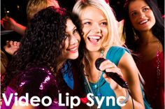 Video Lip Sync - Take karaoke to the next level. Don't just sing the words at your event, but rather star in your own music video! You become the star when you stand in front of our green screen, grab some friends and make them your band mates and sing your heart out! Video Lip Sync is the hottest version of lip syncing out there in the Mitzvah and event market. Visit our website to book this entertainment option today!
