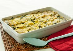 Creamed Spinach and Kumara Bake recipe – Easy Countdown Recipes – January ve Getables Easy Baking Recipes, Side Dish Recipes, Easy Healthy Recipes, Healthy Food, Healthy Eating, Cooking Recipes, Köstliche Desserts, Delicious Desserts, Vegetable Dishes