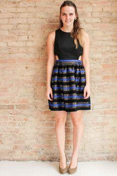 Jazzlyn Cut Out Dress