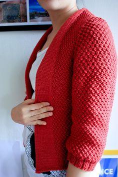 Ravelry: Minimalist Cardigan pattern by Ruthie Nussbaum