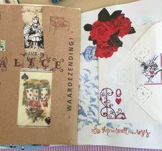 Alice in Wonderland junk journal