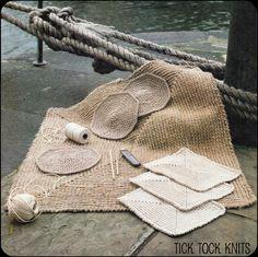 Pattern Crocheted Floor. / Padrão Crochê Pavimento.