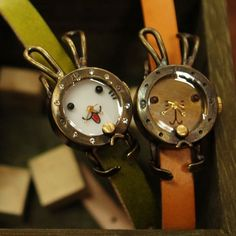 Cute bunny watches