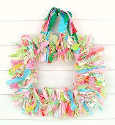 preppy fabrics + preppy ribbons