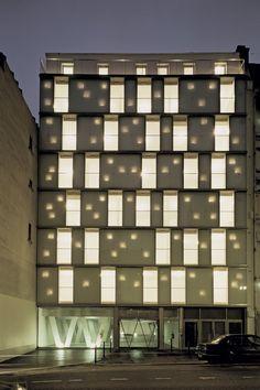 Louis Blanc Social Housing - Paris, France - ECDM