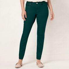 22533795ca84c Women's LC Lauren Conrad Skinny Jeans Green Jeans, Slim Jeans, Skinny Jeans,  Lc