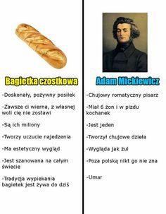 Read from the story Mickiewicz i Słowacki- Memy i nie tylko. Funny Sms, Wtf Funny, Polish Memes, I Want To Cry, Best Memes, Funny Photos, Haha, Anime Meme, Fandoms